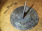 VERY OLD BRONZE SUNDIAL UNTOUCHED CONDITION
