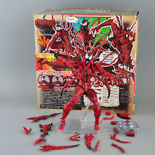 Revoltech Series AMAZING Spider Man Carnage Figure Toy Gift No.008 Boxed Marvel