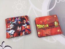 Dragon Ball Z Goku Super Saiyan Unisex Wallet Short Purse Gift New