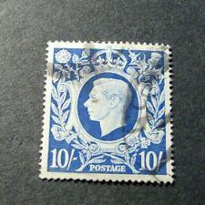 Great Britain Stamp Scott# 251 King George Vi 1939-42 L296