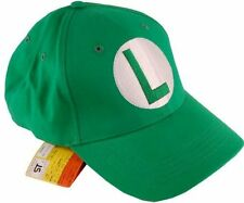 NEW Super Mario Brothers Luigi cap Green Baseball Cap anime cosplay fabric gift