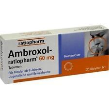 AMBROXOL ratiopharm 60 Hustenlöser Tabletten 20ST / Apo