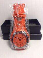 Orange Soki Quartz Watch, Brand New In Box, with New Battery.