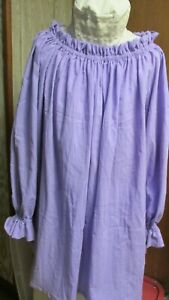 """""""""""ORCHID COLOR SHORT CHEMISE"""""""" - NEW - MEDIEVAL, COLONIAL, PEASANT, BOHO"""