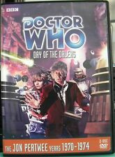Doctor Who: The Day of the Daleks (Story 60) DVD, 2011, 2-Disc Set R1