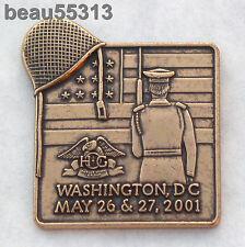 HARLEY DAVIDSON OWNERS GROUP HOG 2001 WASHINGTON DC ROLLING THUNDER POW MIA PIN