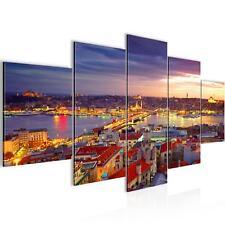 BILD 603152a# WANDBILDER Istanbul Türkei VLIES LEINWAND KUNSTDRUCK 100x50 cm