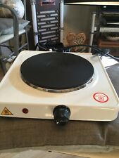 Two Brand New 1500W Single Electric Hot Plates