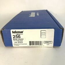 Tekmar 256 outdoor reset boiler control -one stage