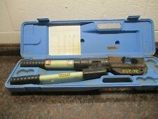 Huskie Tools Ep 510 Hydraulic Crimping Tool With Case Free Shipping