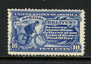 SCOTT E6 1902 10 CENT SPECIAL DELIVERY ISSUE MNH OG F-VF CAT $320!