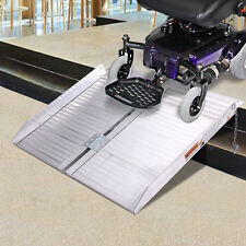 2 Ft Fold Ramp Ramps Briefcase Medical Mobility Wheelchair Emergency Hospital