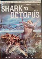 Mega Shark vs. Giant Octopus (DVD, 2010, Includes Digital Copy)