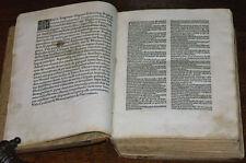 INKUNABEL CARACCIOLUS SERMONES OLMÜTZ NEAPEL 1489 NUR IN WENIGEN BIBLIOTHEKEN