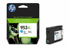 Genuine HP 953XL High Capacity Cyan Ink Cartridge for HP Printers F6U16AE 953 XL
