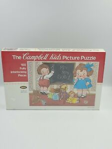 The Campbells Kids Fully Interlocking Picture Puzzle, M'M M'M! Good New Sealed