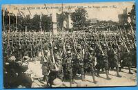 CPA: Fêtes de la victoire, 14 juillet 1919 - Les Troupes noires / Guerre 14-18