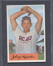 1954 Bowman #29 Johnny Klippstein (Cubs)  Vg-Ex  (Flat Rate Ship)