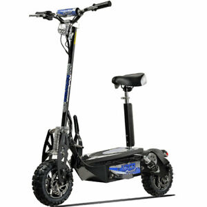 UberScoot Evo 1600W 48VElectric Scooter - Black, Cap-265#, Free Ship: 48 States