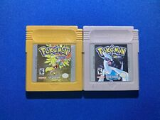 Pokemon Gold & Silver Version Lot Game Boy Color Authentic Tested New Batteries