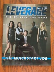 Leverage: The Roleplaying Game - The Quickstart Job