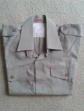 Genuine British issue short sleeve tropical shirt 38cm collar
