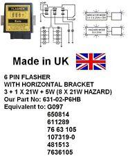 631-02-P6HB 24V 6 PIN FLASHER, Equivalent: G097,650814,611289,76 63 105,107319-0