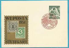 Berlin aus 1951 roter Sonderstempel auf MiNr.80 - Tag der Briefmarke!