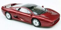 TOP MARQUES 039E JAGUAR XJ220 resin model road car metallic red body 1992 1:18th