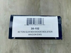 BACHMANN 38-152 80T GLW BDA BOGIE BOLSTER WAGON – EWS EUROPEAN CONTAINERS 950026