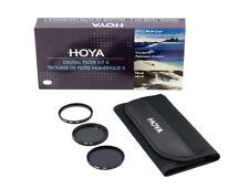Hoya 49mm Digital Filter Kit: UV(C) + CPL/Circular Polarizer + NDx8/ND8 + Pouch