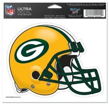 """Green Bay Packers 5""""x6"""" 5x6 Ultra Decal Window Laptap Car Truck Auto Multi Use"""