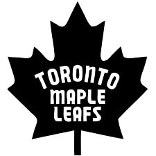 """Toronto Maple Leafs NHL Decal """"Sticker"""" for Car or Truck or Laptop"""