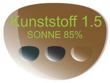 2 Brillengläser Kunststoff (Index 1,5) SONNE inkl. Super-ET, Hart, CleanCoat