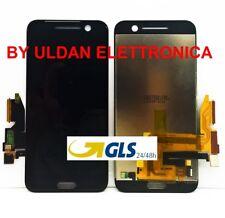 TOUCH SCREEN VETRO + LCD DISPLAY Assemblati Per HTC 10 ONE M10 Nero