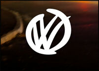 VW SMOOTH, Car Decal Vinyl JDM Sticker Golf Dub Euro Polo Beetle Camper T4 T5