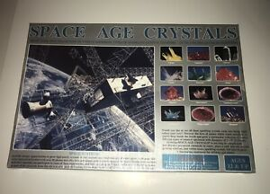 The Kristal Corp Space Age Crystal Growing Kit Set Brand New Made In USA