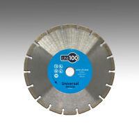 Marcrist UNI100 230mm x 22,23mm Profi Diamant-Trennscheibe Beton Universal Flex