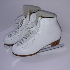 Reidell 121 Jv Ice Skates Made In Usa Womans 5 Pre-owned