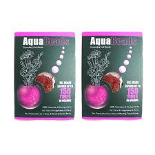 Water Aqua Beads Soil Crystals Bio Gel Ball Vase Flower Plants Expanding Pink x2