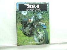 2005 BSA Pre-Unit Twins The Complete Story By Mick Walker Book B6216