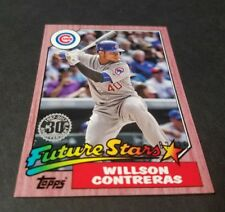 2017 TOPPS MINI ONLINE WILLSON CONTRERAS CHICAGO CUBS 1987 FUTURE STAR 2/25