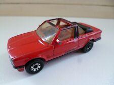 BMW 323I Cabriolet - Red - 1/58 - 1985 - Matchbox - Lesney - Macau
