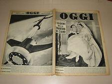 OGGI=1957/42=STIRLING MOSS=MARIA GORETTI=AVA GARDNER=SAN MARINO=ELIO VITTORINI=