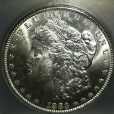 1883-CC U.S. MORGAN SILVER DOLLAR GRADED MS62 BY ICG BEAUTY!! FREE SHIPPING