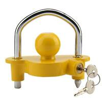 Universal Caravan Trailer Tow Ball Hitch Lock 50mm Hitchlock Coupling Security