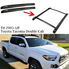 For 05-18 Toyota Tacoma Double Cab OE Style Roof Rack Side Rails Bars Set