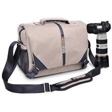 DSLR Camera Shoulder Messenger Shockproof Bag Lens Case For Nikon Sony Canon