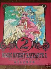 Magic Knight Rayearth Clamp Art Book manime manga JAPAN