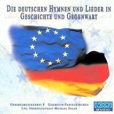 GEBIRGSMUSIKKORPS 8 / DIE DEUTSCHEN HYMNEN UND LIEDER * NEW CD * NEU